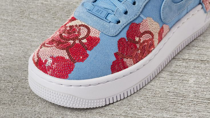 Sneakers women - Nike Air Force 1 Low Floral Sequin