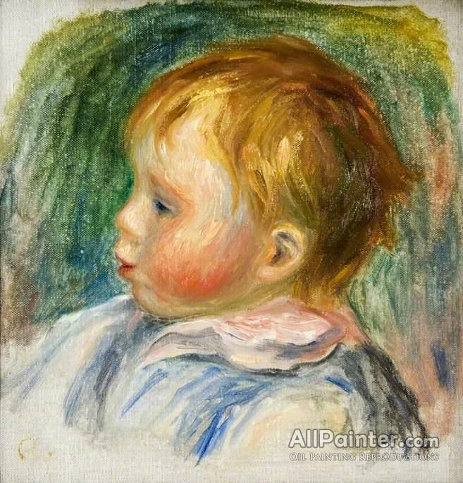 Pierre Auguste Renoir Coco oil painting reproductions for sale