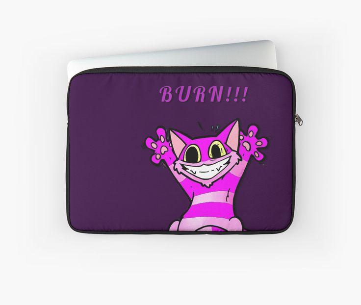Insane Kitten, burn baby, burn! by cool-shirts