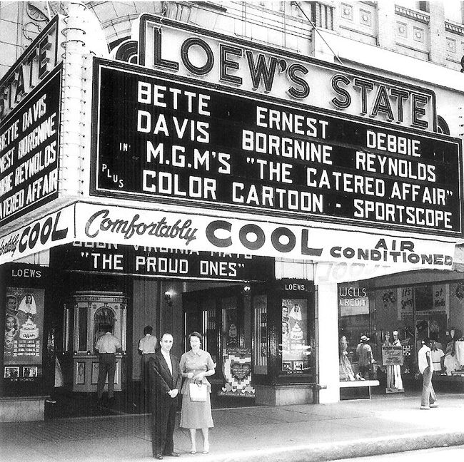 1920 Movie Theater Sign | LOEW'S STATE 152 S. Main | Cagney ...