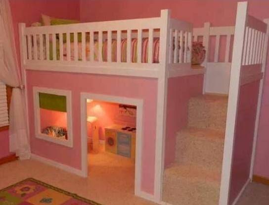 Kinderzimmer ideen für mädchen hochbett  Die besten 25+ Hochbett mädchen Ideen auf Pinterest | Hochbett ...