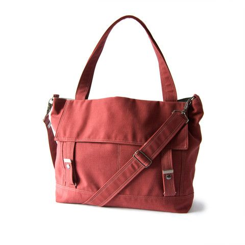 moop letter bag in rosewood - check out hte others