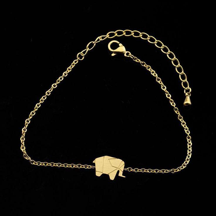 Origami Elephant Bracelet