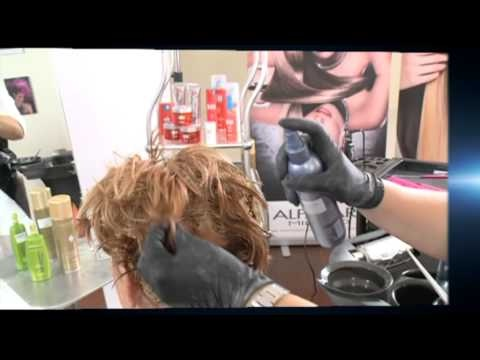 Alfaparf CUBE - Ősz haj festése  www.alfaparfcube.hu