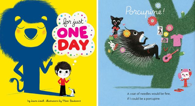 For Just One Day by Laura Leuck & Marc Boutavant