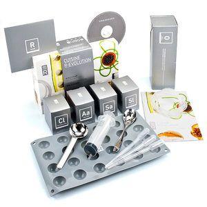 Saveurs MOLÉCULE-R - Kit de cuisine moléculaire R-évolution pour tata nana