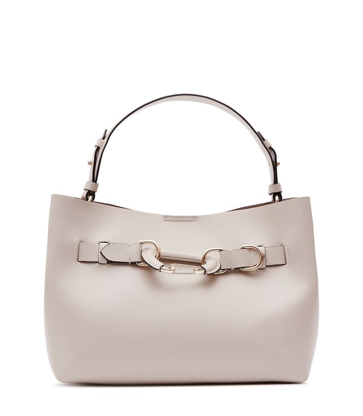 REISS BLEECKER MINI LEATHER MINI BAG CREAM. #reiss #bags #leather #lining #travel bags #weekend #polyester #