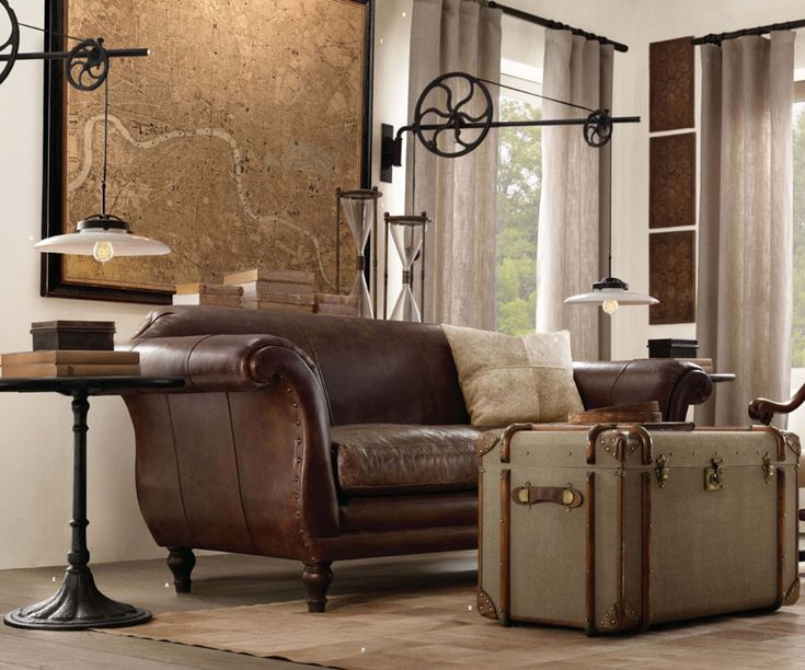 restoration hardware office. brilliant hardware the intentional apartment 26 examples of a masculine home from the pages  restoration hardware catalog and office