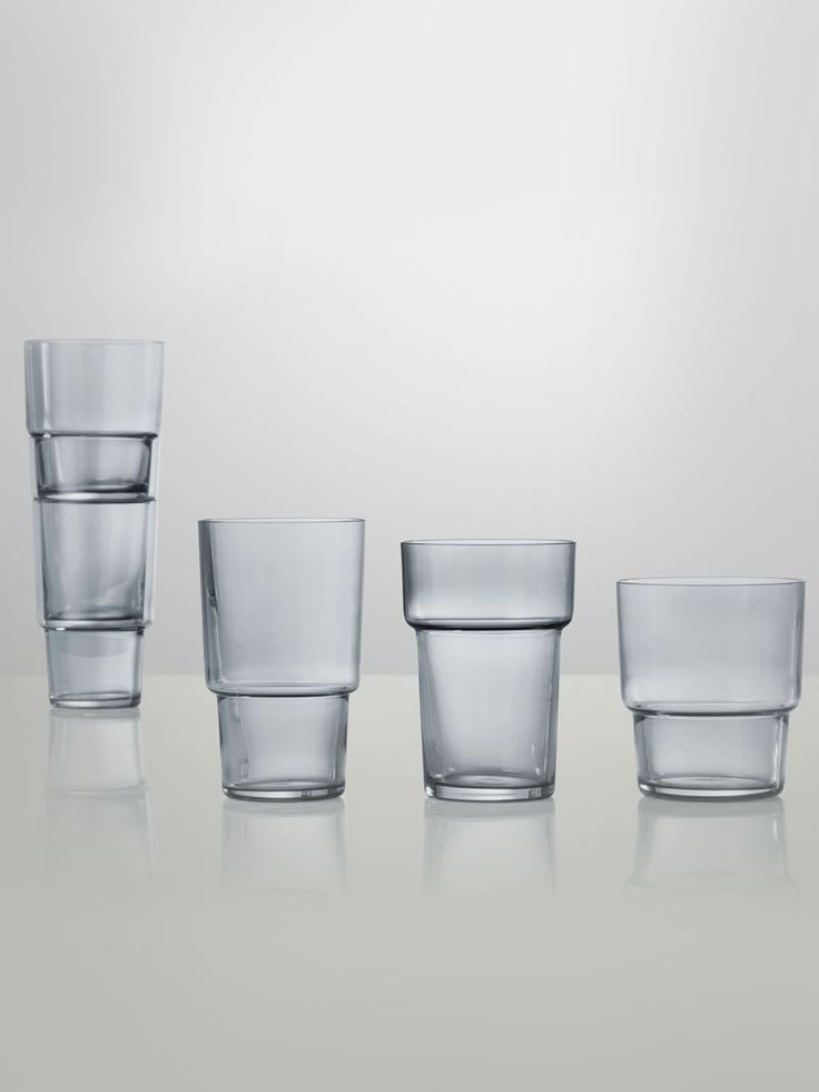 'Same Same But Different' Glasses by Norways Says for Muuto - Douglas + Bec