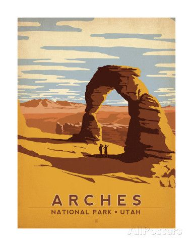 Arches National Park, Utah Prints by Anderson Design Group at AllPosters.com