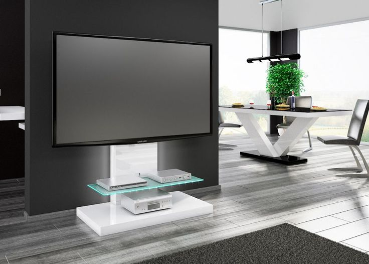MARINO BLACK This is TV-table designed for LCD, LED or PLASMA TV from 50'' up to 70'' with max. weight up to 40kg.