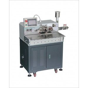 Automatic Both-ends-wire Cut Strip Strand Soldering Machine