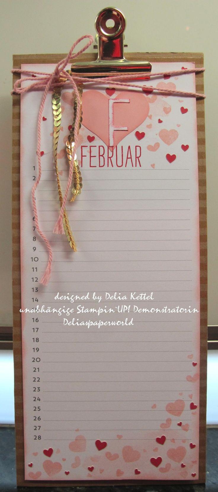Stampin' Up Perpetual Birthday Calendar Kit