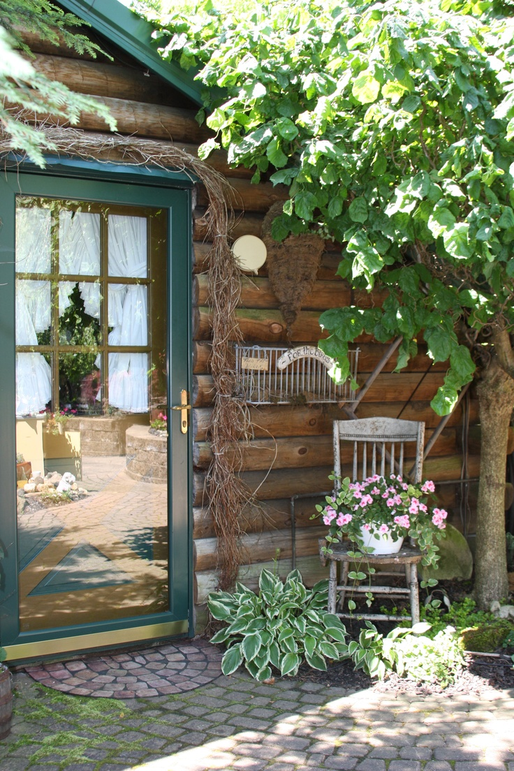 8 Best Images About Cabin Living On Pinterest Gardens