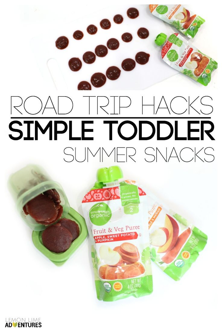 Simple Toddler Summer Snacks AD #simpletruth