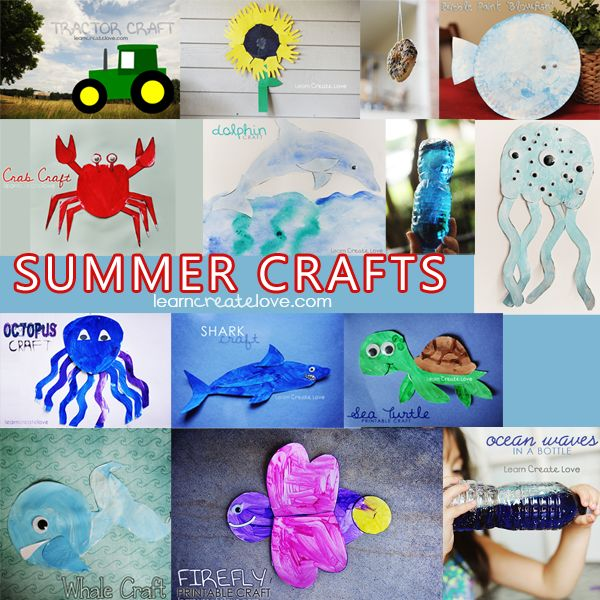 108 best images about summer crafts on pinterest crafts for Arts and crafts ideas for couples