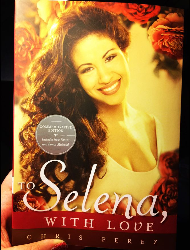 To Selena, With Love - a book by Chris Perez - stories about his love story with Selena, through his eyes. Great read for all Selena fans.