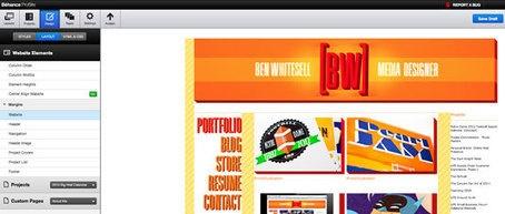 Create a portfolio website using Behance ProSite   Portfolios   Creative Bloq