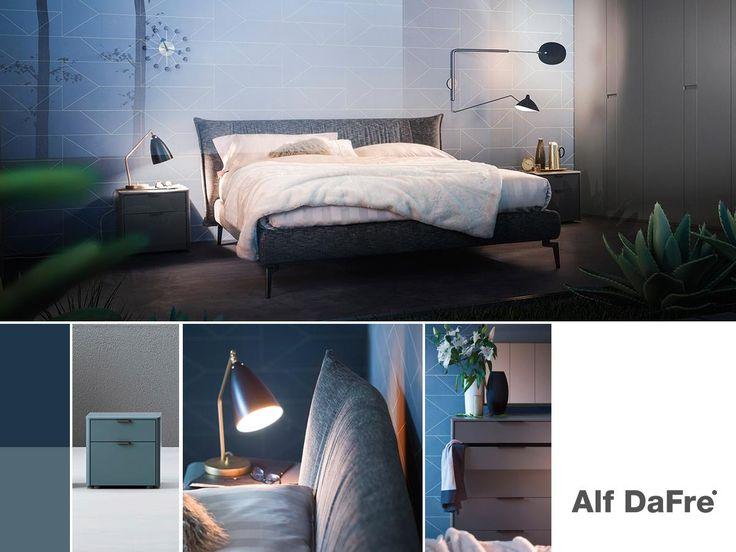 La zona notte è una parte fondamentale dell'habitat casa, con #AlfDaFre puoi arredare l'ambiente arricchendolo di dettagli preziosi e inconfondibili. / #bed #bedroom #furniture #design