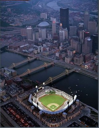 PNC Park  Capacity: 38,496  Bulit: 2001  Address: 115 Federal St, Pittsburgh, PA 15212  Team: Pittsburgh Pirates