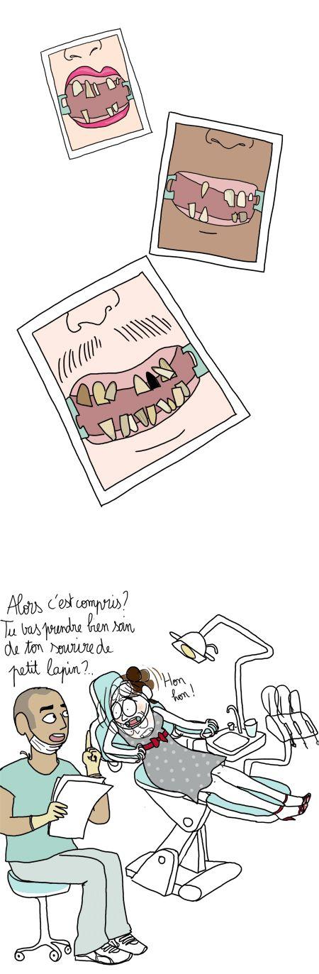 Dentiste: une image vaut mille mots