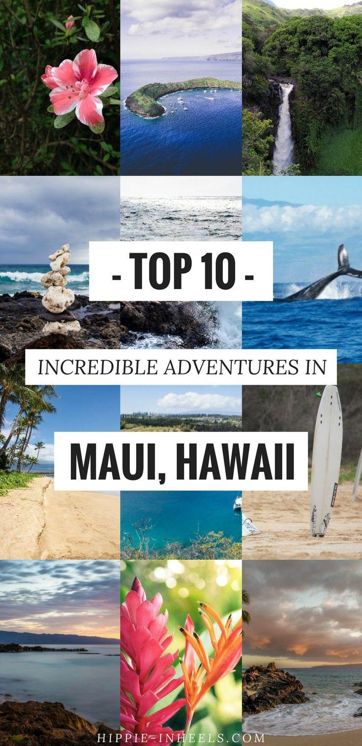 My Top 10 Adventure Activities to Do in Maui Hawaii