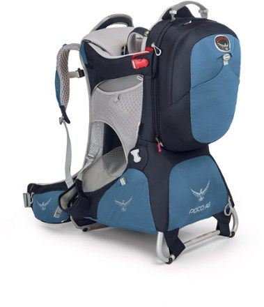 With a removable daypack, the Osprey Poco AG Premium child carrier channels everything Osprey knows about packs into a comfortable carrier that's supportive, light, ventilated and easy to adjust. Available at REI, 100% Satisfaction Guaranteed.
