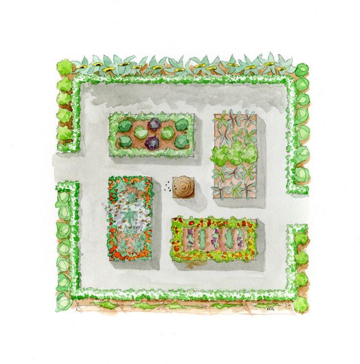Garden drawing garden pinterest for Garden design ideas nsw