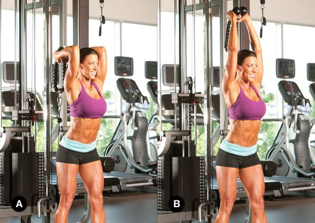 Sculpt Your Sexiest Arms with Drop Sets - Oxygen Women's Fitness