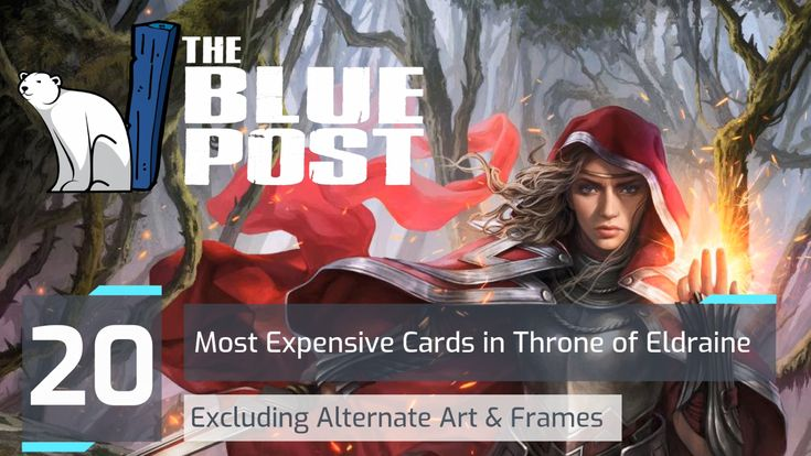 20 most expensive cards for mtgeld cards most