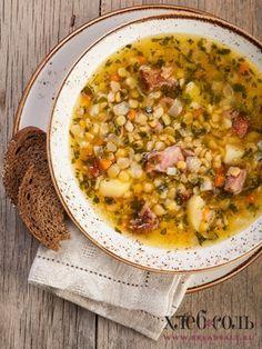 Гороховый суп с копечностями