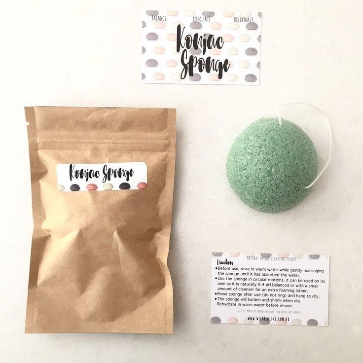Konjac Cleansing Sponge - French Green Clay