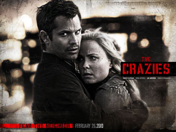Watch Streaming HD The Crazies, starring Radha Mitchell, Timothy Olyphant, Danielle Panabaker, Joe Anderson. About the inhabitants of a small Iowa town suddenly plagued by insanity and then death after a mysterious toxin contaminates their water supply. #Horror #Mystery #Thriller http://play.theatrr.com/play.php?movie=0455407
