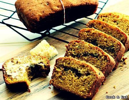 """Рецепт Тыквенный хлеб с корицей - Выпечка - Cook and Eat"""""""