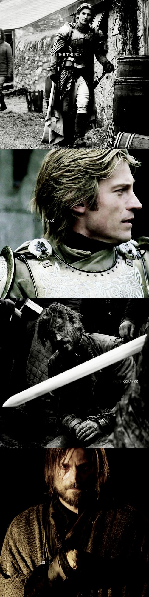 """Jaime. My name is Jaime."" 