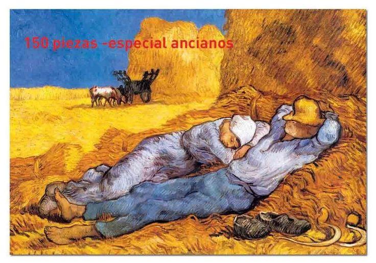 Educa - 13788 - Puzzle Adulte Puzzle Express 150 pièces - Noon, Van Gogh: Amazon.fr: Jeux et Jouets