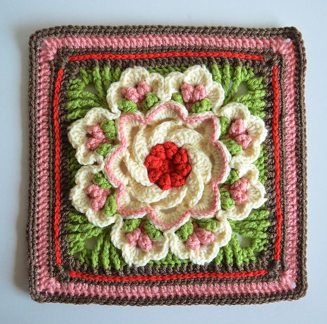 2015 Crochet Block-A-Month CAL