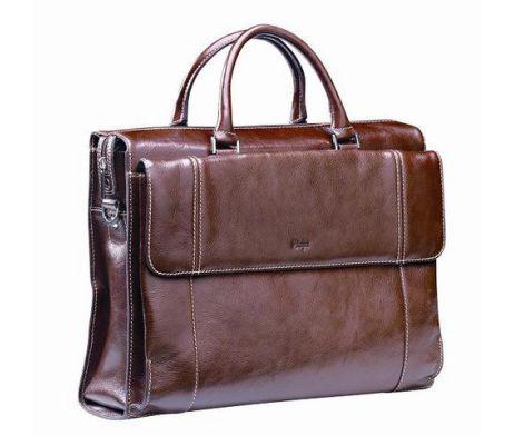 Adpel Italian Leather Ladies Laptop Bag / Material: Leather / Branding Options: Embossing #brandability #corporategifts #laptopbags