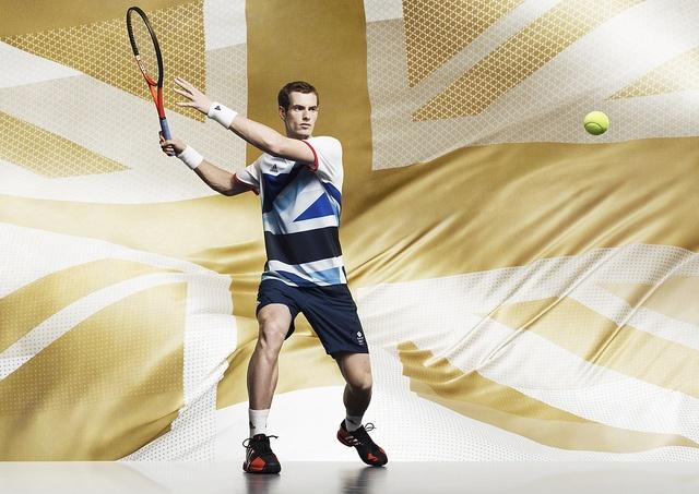#TeamGB adidas GB Olympic kit - Andy Murray