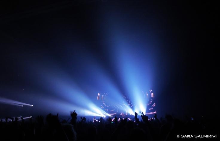 Armin van Buuren @ Summer Sound Festival 2012, Helsinki Finland.