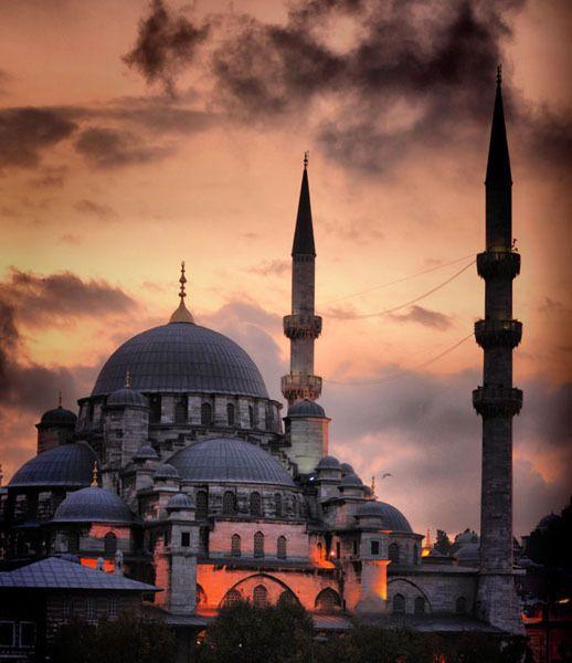 Eminönü Mosque in İstanbul