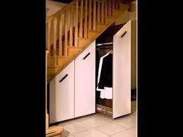 Image result for under stairs pullout coat closet