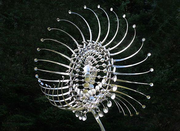 Bemærkelsesværdige kinetiske skulpturer af Anthony Howe, skal udfordre ens…