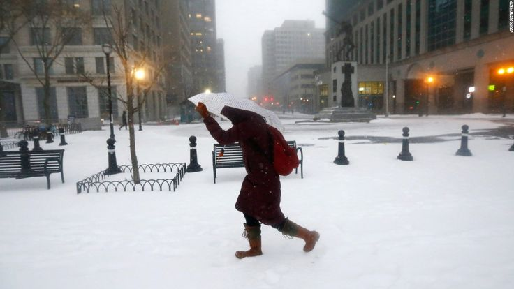 A major snowstorm is hitting the northeast and mid-Atlantic portion of the United States. This is what it looks like across some of the impacted cities:
