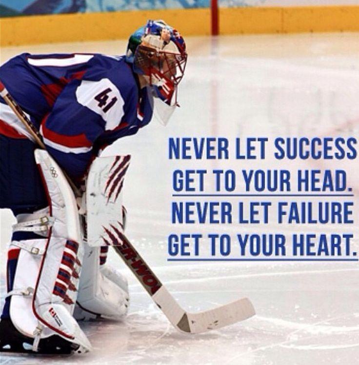 Hockey Quote Hockey Quotes Hockey Memes Goalie Quotes