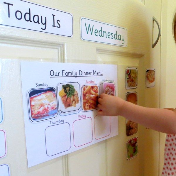 Brilliant Printable Family Meal Planner