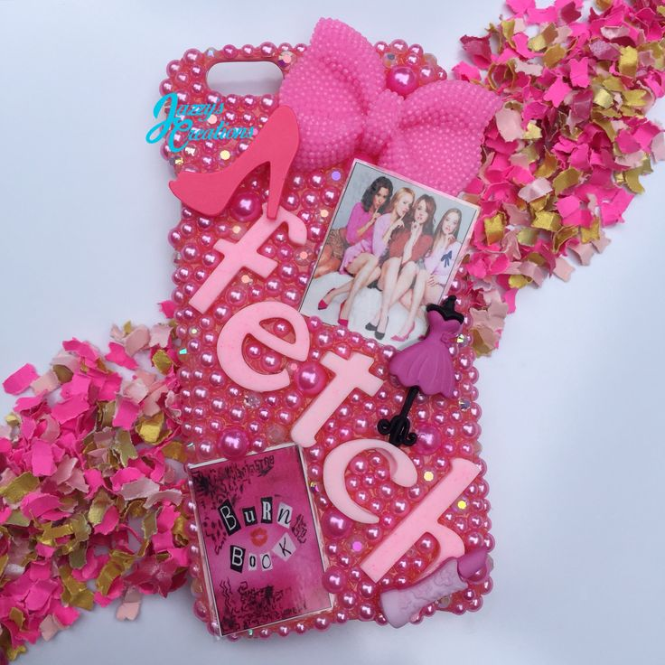 """On Wednesdays We Wear Pin"" Mean Girls Case all finished for a customer."