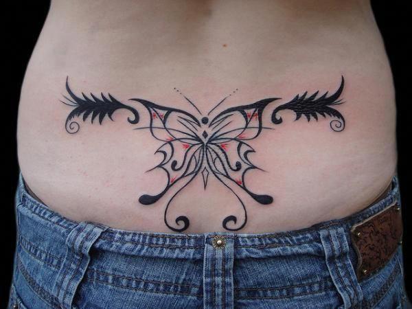 back tattoos for women | … , Tribal Tattoos For Women On Lower Back: Tribal ta…