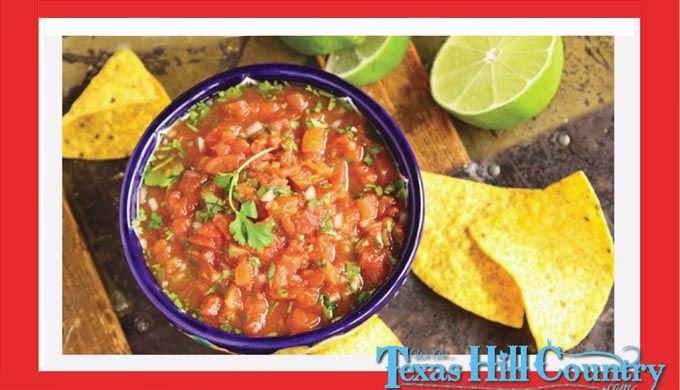 Our gardens are overflowing with Summer Fruits and Veggies! So we thought we would let you in on how to make our favorite Hill Country Salsa!
