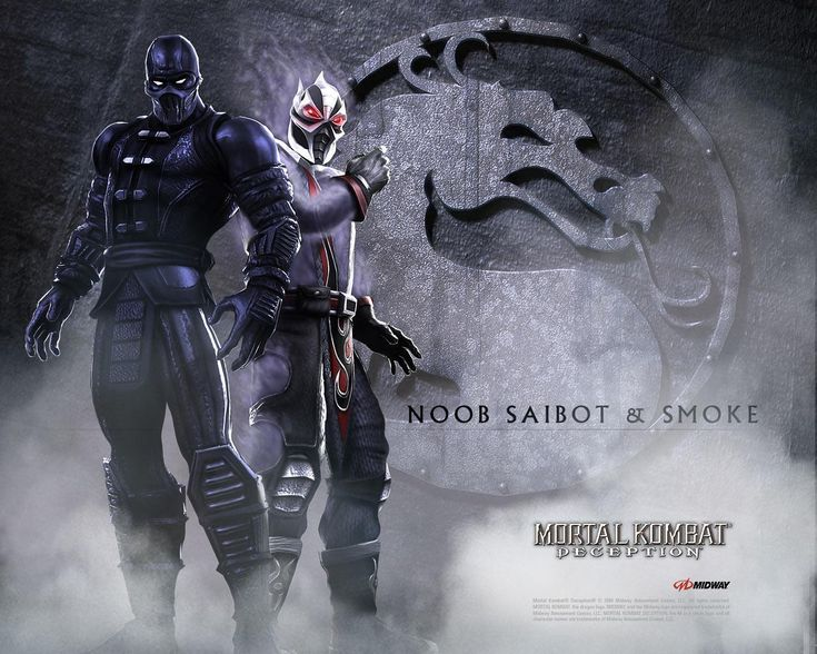 Noob Saibot & Smoke - mortal-kombat Wallpaper